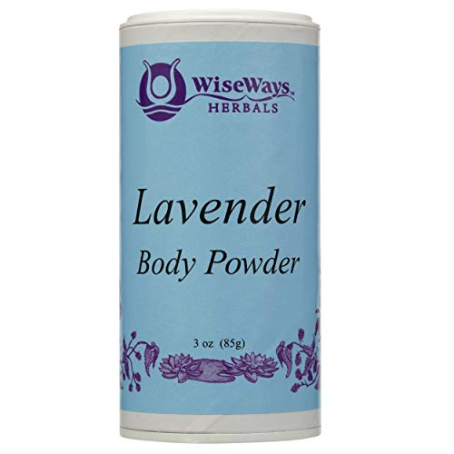 Lavender Body Powder 4 Ounces by Wise Ways Herbals