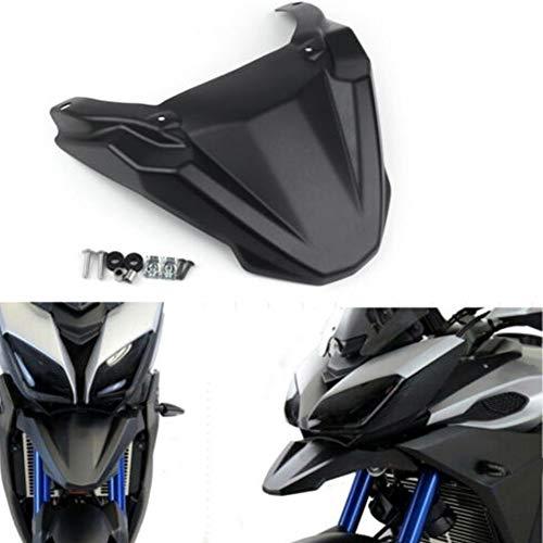 LYXMY Parafango Copri Pneumatici Anteriore Moto, prolunga parafango Becco Cowl Estensione per Yamaha MT-09 Tracer/Tracer 900 / FJ09 2015-2018, Parti di Moto