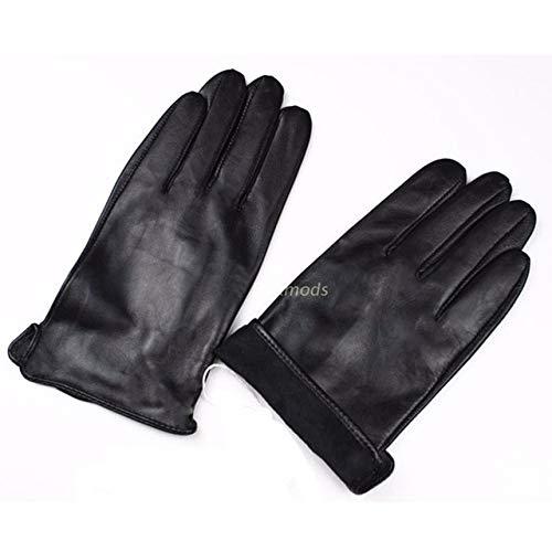 KAIJIN Taktische Handschuhe Herren Lederhandschuhe Ungefüttert 100% Gestreift Schaffell Frühling Sommer Dünn Driving Fashion Business