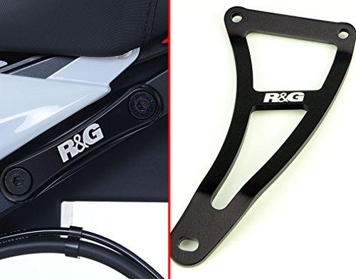 R&G RACING Kit Suppression Repose-Pieds arrière Noir BMW S1000R
