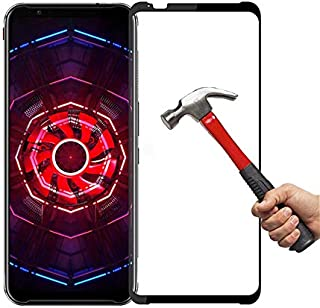Phone Screen Protectors - 9D 9H Tempered Glass Full Coverage Protective For ZTE nubia Red Magic 5G 3S 3 Mars Full Cover An...