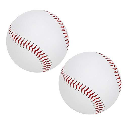 Drfeify Soft Baseball, PU Elastische Praxis Soft Baseball Soft Filling Training Verschleißfeste Base Ball Outdoor-Ausrüstung(Weiche Baseballs)