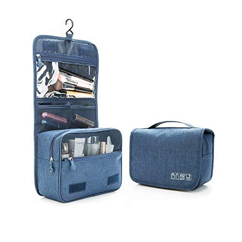 Beauty Case da Viaggio, Unisex Borsa da Toilette Appendibile, Trousse da Toilette Impermeabile Grande Capacità Multi-compartimenti Borsa da Viaggio, Makeup Cosmetic Toiletry Bag per Bagno, Viaggi