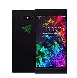 Razer Phone 2, Unlocked Gaming Smartphone – 120Hz QHD Display – Snapdragon 845 – Wireless Charging – Chroma – 8GB RAM - 64GB - Satin Black (Renewed)