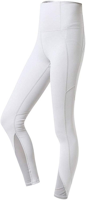 Fitness Pants Female Elastic Tight high Waist wear Thin Yoga Pants Quick Dry Hip Peach Pants Black White Yoga Pants