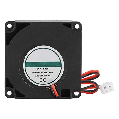 Socobeta Alta Durabilidad de 2 Pines sin conexión de cableado Ventilador de bajo Ruido 40 * 40 * 10 mm para Impresora 3D
