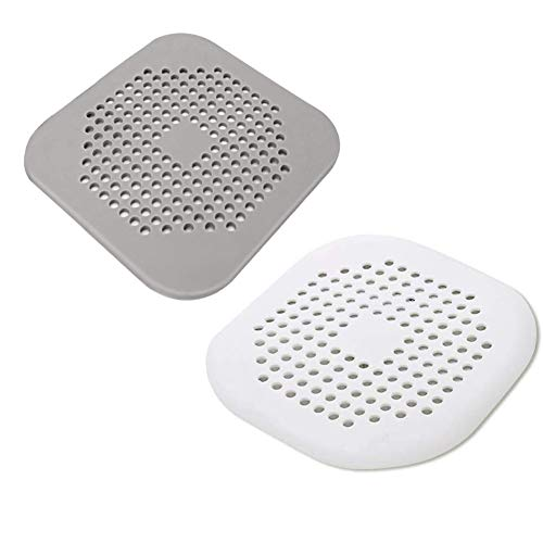 2 coladores de silicona para fregadero de cocina, baño, cocina, ducha, cobertor de drenaje 2019