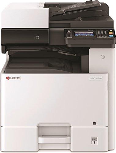 Kyocera Klimaschutz-System Ecosys M8124cidn 3-in-1 Farb Multifunktionsdrucker, Duplex-Einheit, 24 Seiten pro Minute, Mobile-Print-Funktion, Formate bis DIN A3