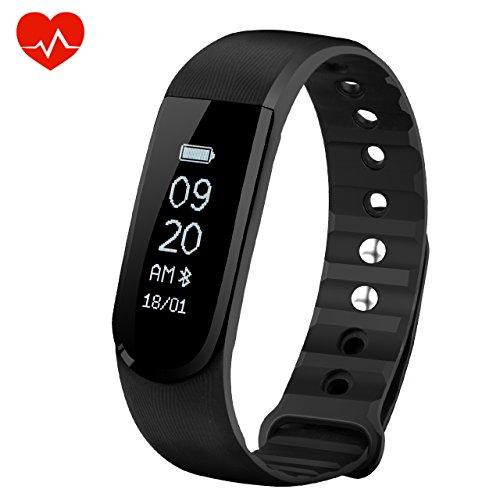 Bracelet Cardio OMorc Tracker d'Activité Smart Bracelet...