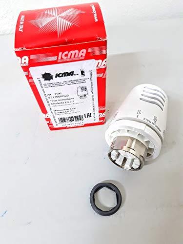 Cabezal termostático ICMA 28 x 1,5 Válvula para radiador y radiador