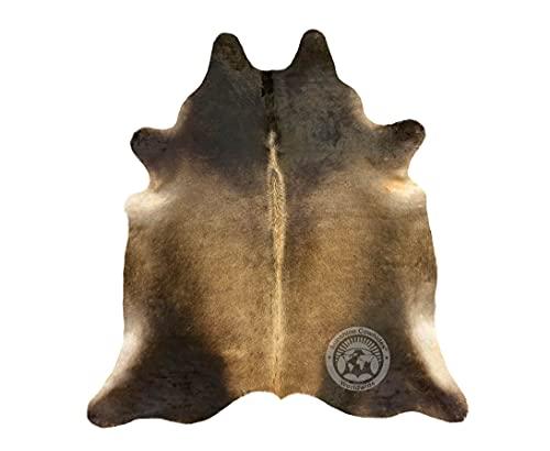Alfombra de Piel de Vaca Oscura 190 x 160 cm - Pieles del Sol