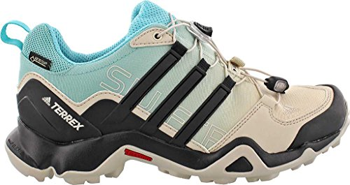 Adidas Terrex Swift R Gtx W Clear Brown / Black / Easy Mint Women's Hiking Shoes - 8 B(M) US
