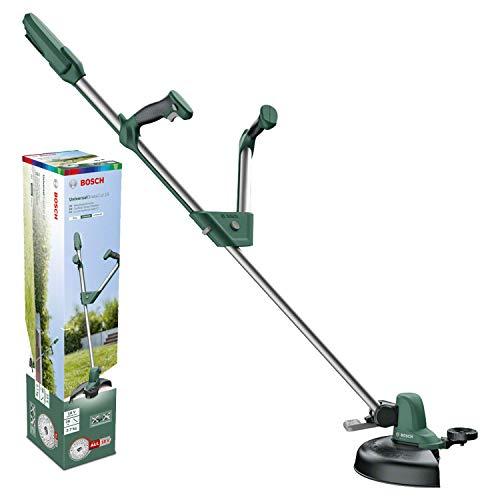 Bosch Home and Garden 06008C1D01 0 600 8C1 D01 Bosch Rasentrimmer UniversalGrassCut 18 (ohne Akku, 18 Volt System, im Karton), 18 V, Grün