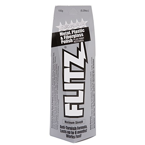 Flitz BU 03515 Metal, Plastic and Fiberglass Polish Paste - 5.29 oz.