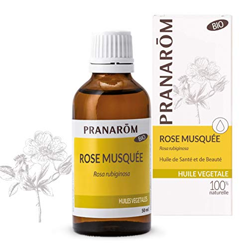 Pranarôm - Rose Musquée Bio - Huile Végétale - Huile Précieuse - Riche en Omégas 3 - 50 ml