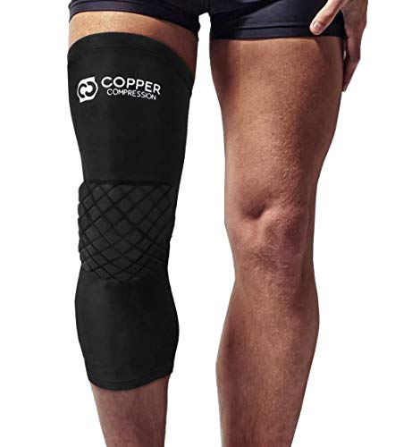 Copper Compression Knee Pads. Guaranteed Highest Copper Padded Knee...