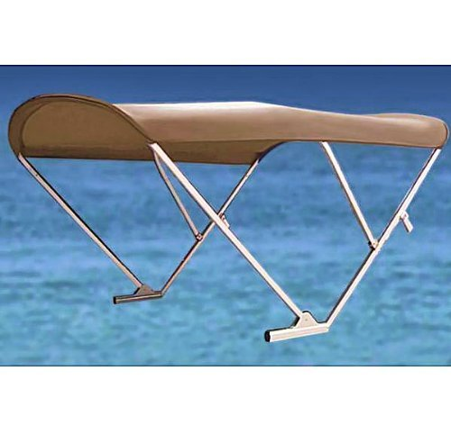 PWR-ARM II Automatic Power Pontoon Bimini Top (Beige)