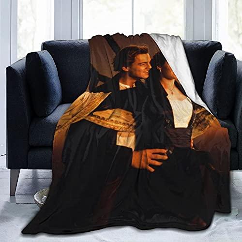 Titanic - Manta de microfibra ultrasuave para cama y sofá en todas las estaciones de 200 x 150 cm