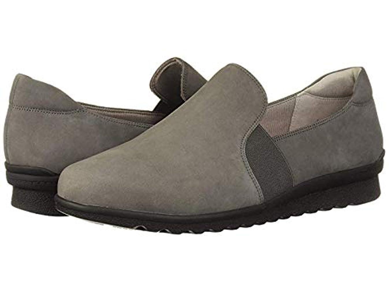 できる軽蔑する優先権[ARAVON(アラヴォン)] レディースローファー?靴 Josie Double Gore Slip Brown (23.5cm) M (B) [並行輸入品]