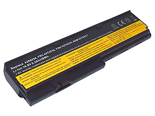 Hochleistungs-Akku für Lenovo ThinkPad X200, X201, wie 42T4534, 42T4537, 4.400mAh