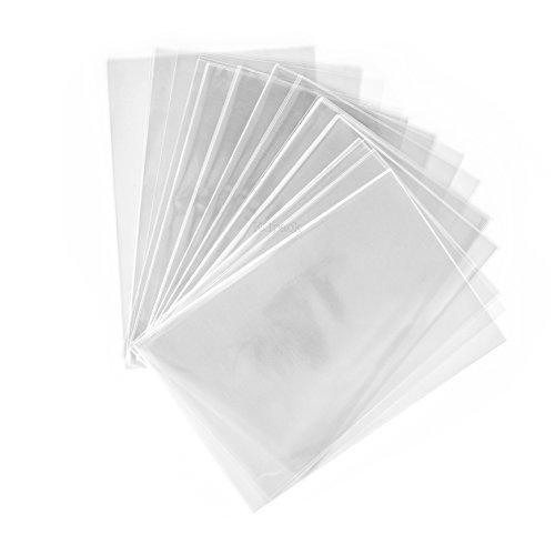 kgpack 100x Sacchetti di plastica Trasparente in cellophane 20 x 30 cm | Sacchetti di plastica per Biscotti Dolci Torte Caramelle Cupcakes al Cioccolato Lecca Lecca | Plastic Bags