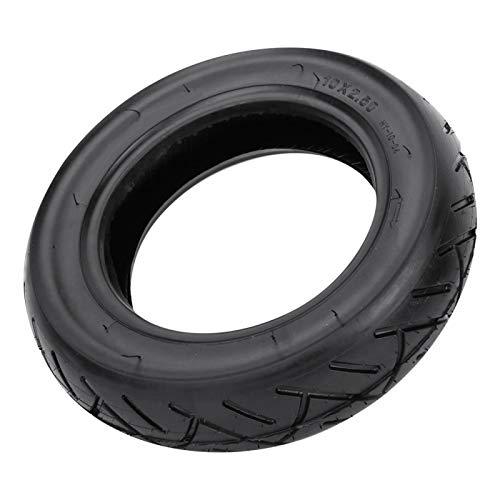 SALUTUYA Rueda de neumático de Goma Antideslizante, neumático Inflable de Bicicleta, Ajuste Flexible, Rueda de neumático Trasero de 10 Pulgadas, para Scooter de Equilibrio