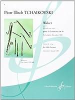 チャイコフスキー : ワルツ 作品48 (クラリネット四重奏) ビヨドー出版