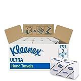 Kleenex 6778 Ultra Essuie Mains Enchevêtrés 124 Formats Moyen 2 Plis Blanc Pack de...