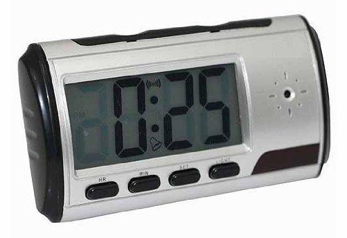 Asone draagbare wekker spy camera DVR met bewegingsdetectie