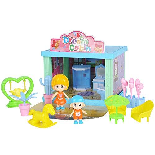 IDWT Baño de muñecas, Juguete de Bricolaje portátil y Duradero, para bebés