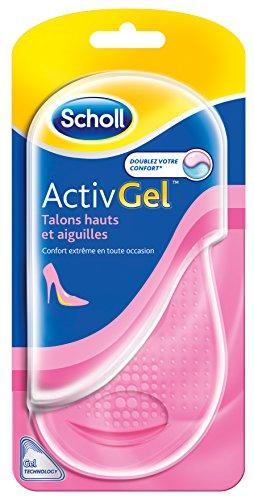 SCHOLL S.A - Scholl Activ Gel Semelles Talons Hauts et Aiguilles 1 paire
