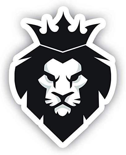 King Lion Black Car Decal Vinyl Sticker Window Truck Car Vinyl Bumper Sticker Decal 5''