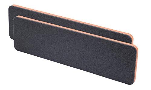 hr-imotion 12111301 Garagen - Türkantenschutz Set (2 Stk je 1,5 x 11,5 x 44 cm) [Selbstklebend   einfachste Montage langelebig]