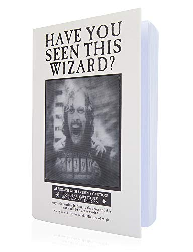 WOW! Stuff Collection, Harry Potter Gefangener von Azkaban Video, Linsenraster-Notizbuch