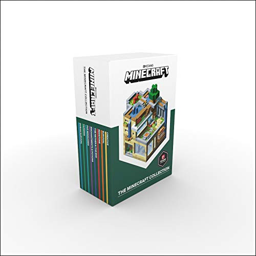 The Official Minecraft Guide Collection 8 Books Box Set By Mojang (Ocean Survival, Farming, PVP Minigames, Enchantments & Potions, The Nether & The End, Redstone, Survival, Creative)