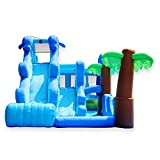 YM963 Aufblasbares Schlag-Haus Großer Ozean Slide Castle PVC Oxford Cloth Trampolin mit Gebläse - Ideal for Events - Hält 5 Kinder (600 * 280 * 270 cm)