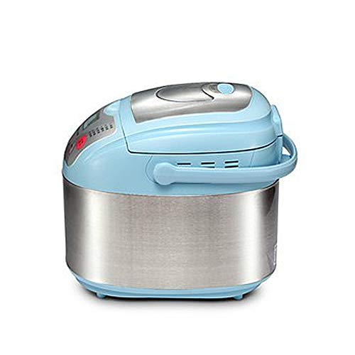 Multi-function clever bread machine, chrome steel computerized clever noodle yogurt cake machine, non-stick bread bucket, 12 sorts of menu, 220V 615W