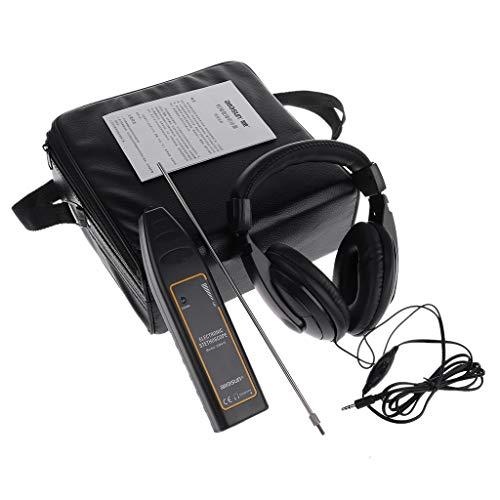 BIlinli Detector de Fugas de Agua Tubo del Tanque de Agua Estetoscopio electrónico Diagnóstico de Ruido del automóvil