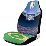 Baseball Sports Stadium Car Seat Covers Universal Auto Front Seats Protector Accessories