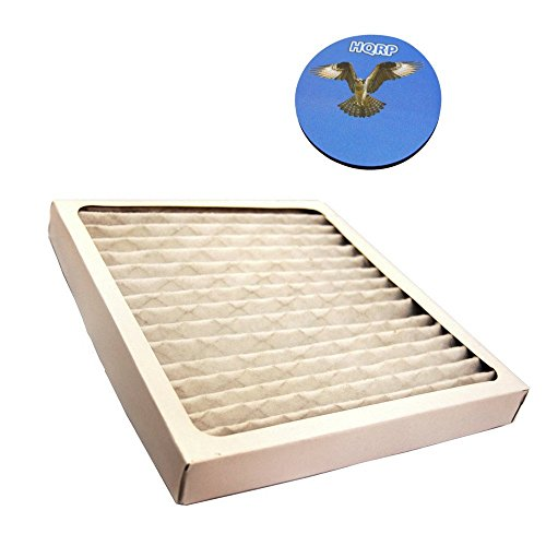HQRP Filter for Hamilton Beach 04381 True Air Allergen Reducing Filter Plus Coaster