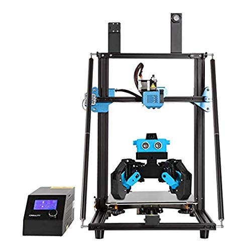 Creality 3D Printer CR-10 V3 Installed with Direct Drive, 2-Port Cooling Fan Extruders, Firmware Upgrade Silent Mainboard, Meanwell Power Supply, Resume Printing 300x300x400mm by MKK