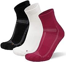 DANISH ENDURANCE Calcetines de Running Largas Distancias, para Hombre y Mujer, Acolchados, Transpirables, Calcetines de...