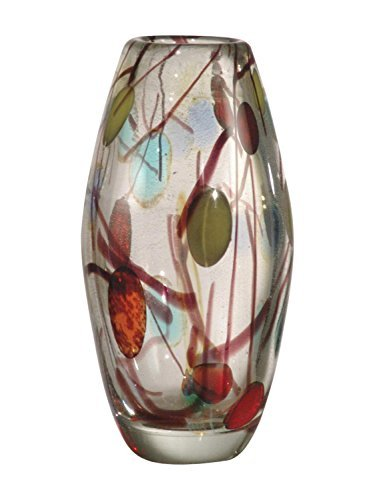 Dale Tiffany Lesley Art Glass Vase by Dale Tiffany Lamps