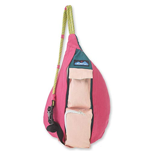 KAVU Mini Rope Bag Cotton Crossbody Sling  - Fruit Salad