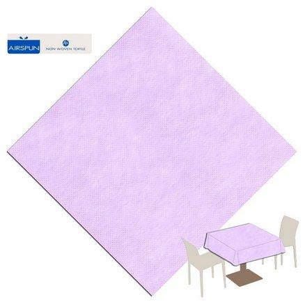 Tafelkleed 140x140 Airspun Packservice Unicolor paars 70 stuks