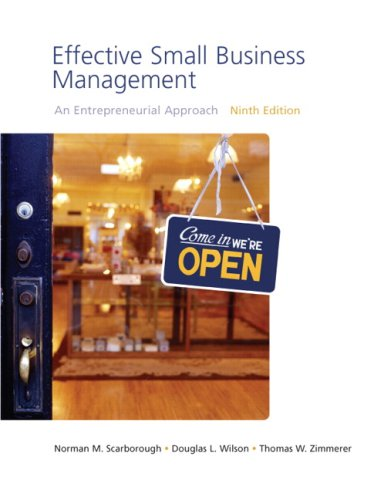 Effective Small Business Management Value Package (includes Business Plan Pro, Entrepreneurship: Starting and Operating