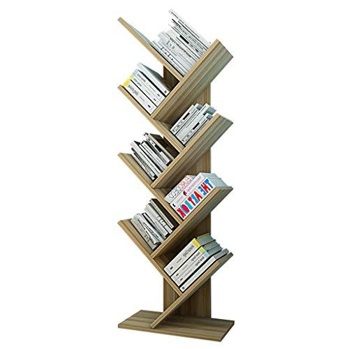 HYY-YY Rack 7 Bibliothèque étagère, autoportant Livre de Stockage Organisateur, Livres/CD/Albums/fichiers Support des étagères Bureau Salon Accueil réservation Cas