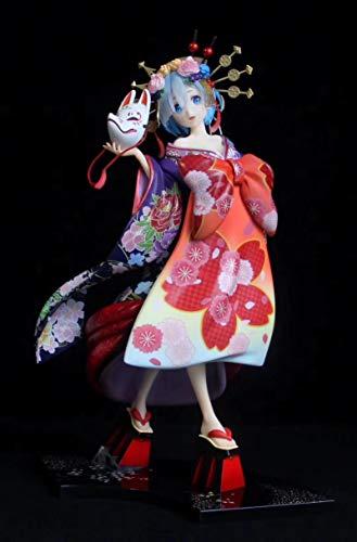 25CM Re:Zero Kara Hajimeru isekai Seikatsu Rem Oirandouchuu 1/7 Figura Kawaii Linda Chica Anime Figura PVC Figuras acción Juguetes Pop Anime,nendoroid Anime,funkos Anime,hentaii Figure