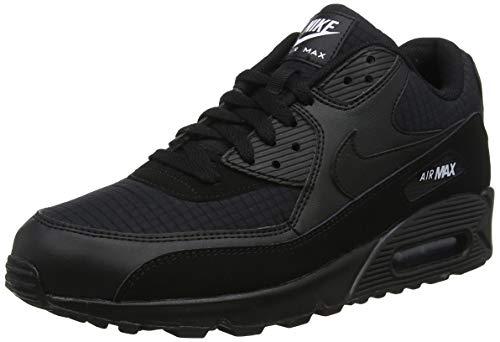 Nike Herren AIR MAX 90 Essential Gymnastikschuhe, Schwarz (Black/White 019), 45 1/2 EU