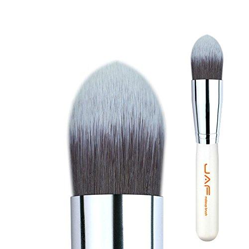 Pinceaux de maquillage Détail 18SSYJ Tapered Kabuki Brosse for Maquillage Liquide Crème Fond de Teint Souple Synthétique Taklon Cheveux Make Up Brush Brosses et outils de maquillage des yeux